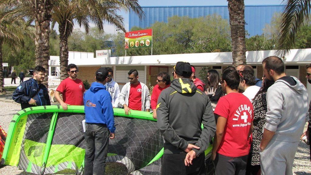 kitesurf camps cape drepano