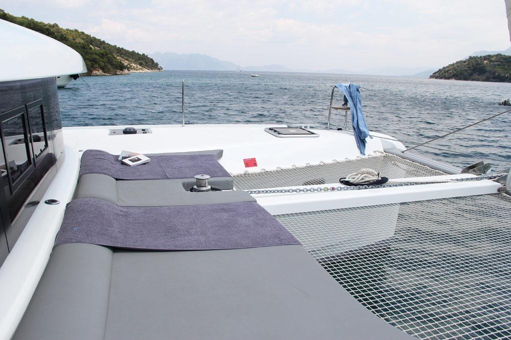 Sailing kitesurfing trip lagoon 42 greece00004