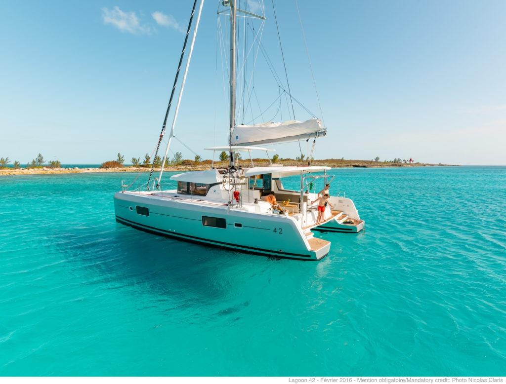 Sailing kitesurfing trip lagoon 42 greece00011