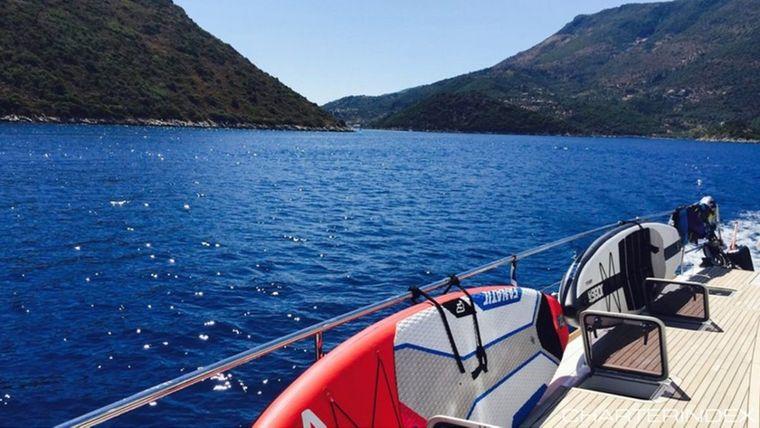 Sailing kitesurfing trip lagoon 63 greece00012