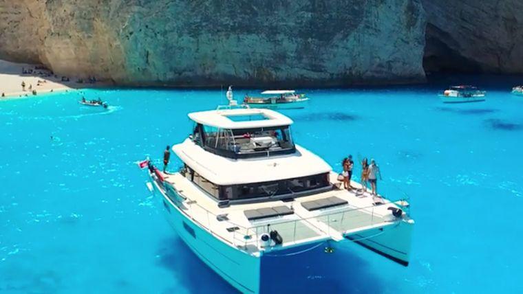 Sailing kitesurfing trip lagoon 63 greece00014