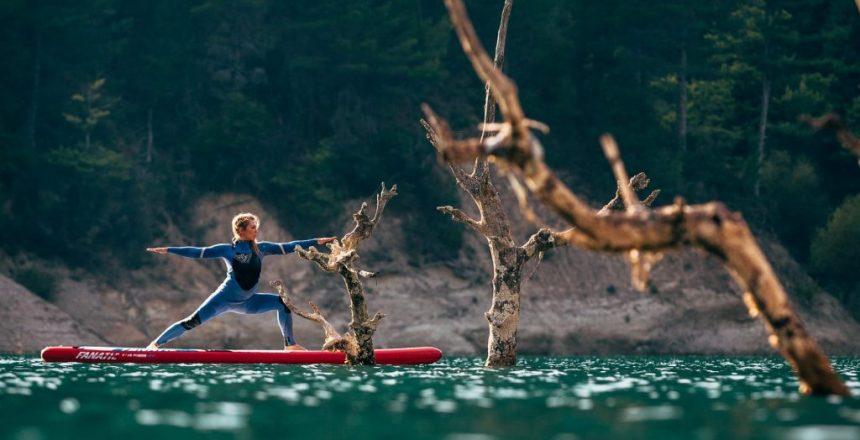 kiteboarding school sup yoga